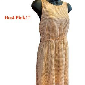 Flirty Peach Summer Dress With Sexy Back!! 😍